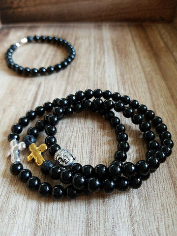 Onyx Bracelets - Made to order
