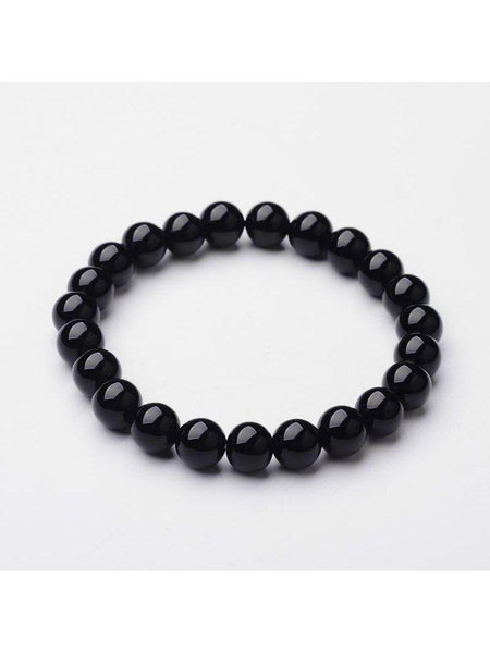 Stretchy Onyx Bracelets - Made to order - Summer Indigo