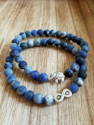 Matte Sodalite Bracelets-Made to Order