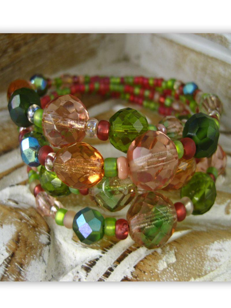 Bracelet - Bohemian Rhapsody Collection - Orchard - Summer Indigo