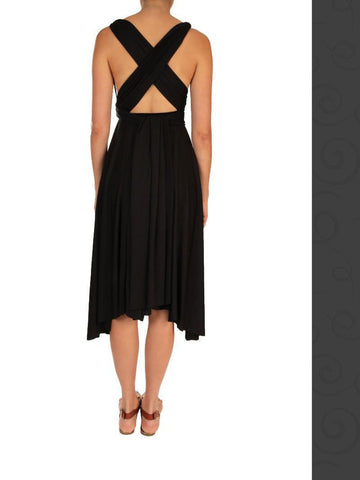 Convertible Dress - Marilyn - Black