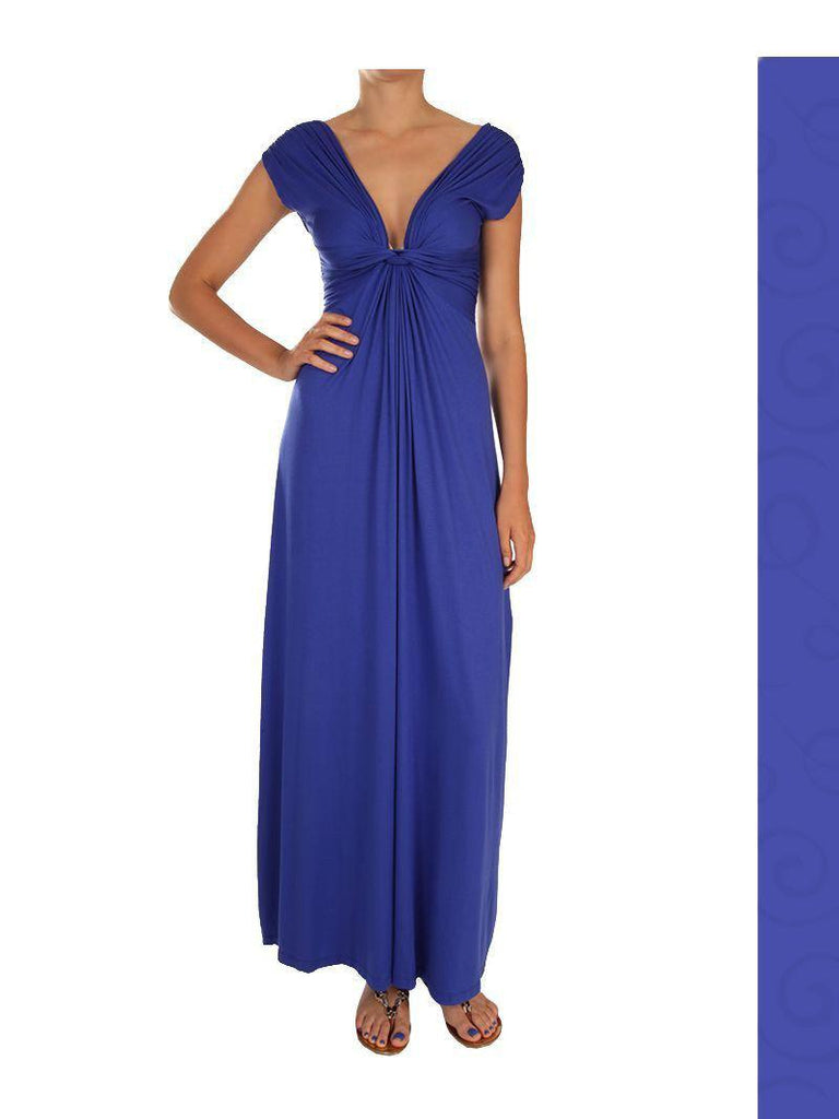 Goddess Dress - Maxi - Royal Blue - Summer Indigo