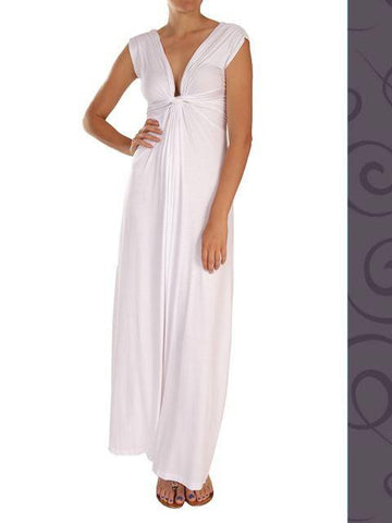 Goddess Dress - Maxi - Jade or White - Summer Indigo