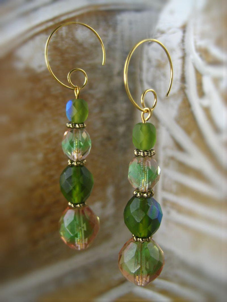 Earrings - Bohemian Rhapsody Collection - Orchard - Summer Indigo