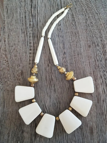 Luxe Bone & Horn Necklace