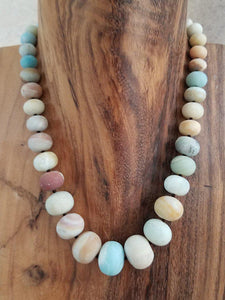 Amazonite Necklace - Summer Indigo