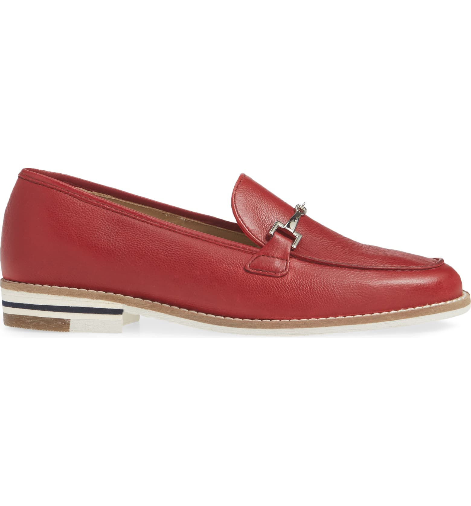 Ara Red Krista Loafer