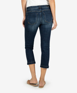 KUT Rising Wash Lauren Crop Straight Leg