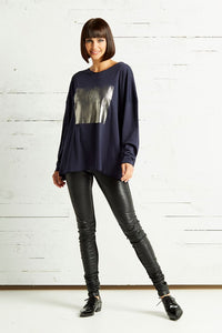 Planet Foil Hipster T