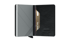 Secrid Stitch Linea Black Slimwallet