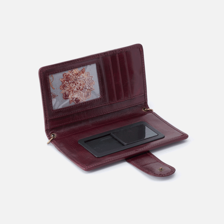 Hobo Plum Apollo Wallet