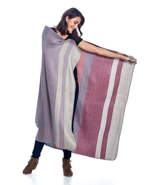 Shupaca Huckleberry Reversible Throw
