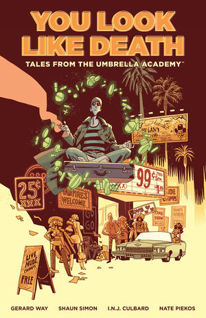 Pre-Order Umbrella Academy: You Look Like Death by Gerard Way, Shaun Simon and More