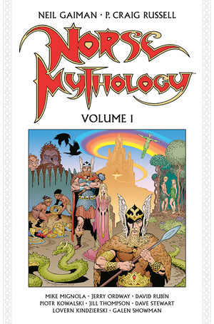 Pre-Order Norse Mythology Volume 1 Hardcover by Neil Gaiman
