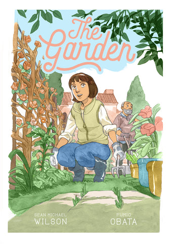 The Garden with Signed Book Plate by Sean Michael Wilson and Fumio Obata