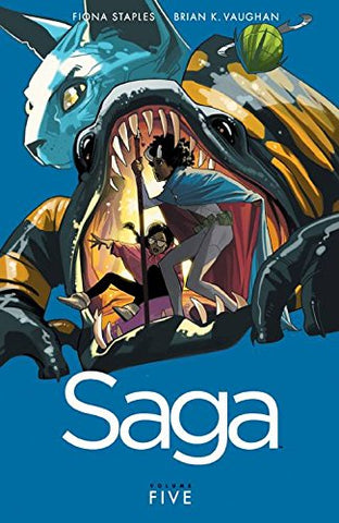 Saga Volume 5 by Brian K Vaughan and Fiona Staples