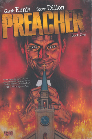 Preacher Book 1 by Garth Ennis and Steve Dillon