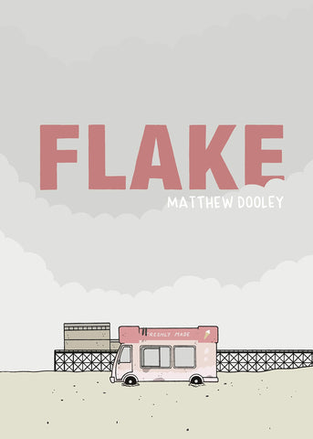 Flake with Signed Book Plate by Matthew Dooley