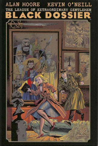 League of Extraordinary Gentleman: Black Dossier by Alan Moore and Kevin O'Neill