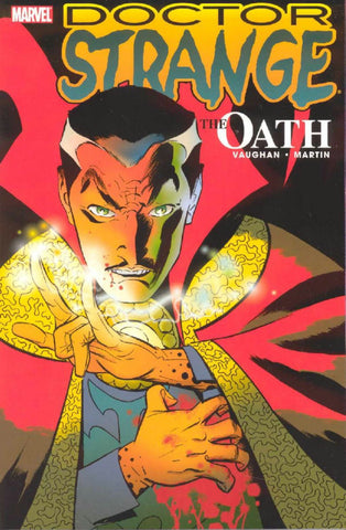 Doctor Who The Oath by Brian K Vaughan and Marcos Martin