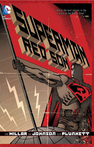 Superman Red Son by Mark Millar, Dave Johnson and Kilian Plunkett
