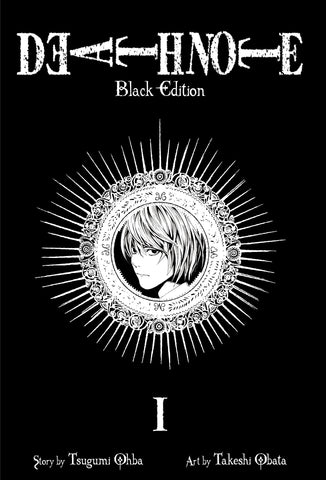 Death Note Volume 1 Black Edition by Tsugumi Ohba and Takeshi Obata