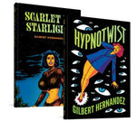 Hypnotwist / Scarlet by Starlight Flip Over Book by Gilbert Hernandez