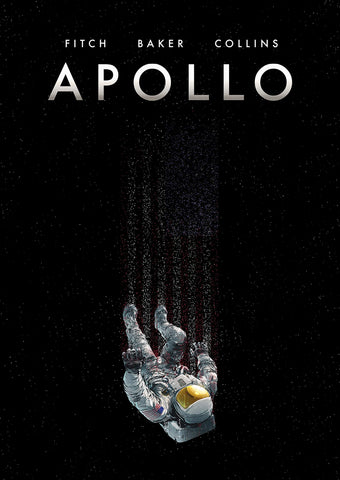 Apollo with Signed Print by Chris Baker, Matt Fitch and Mike Collins