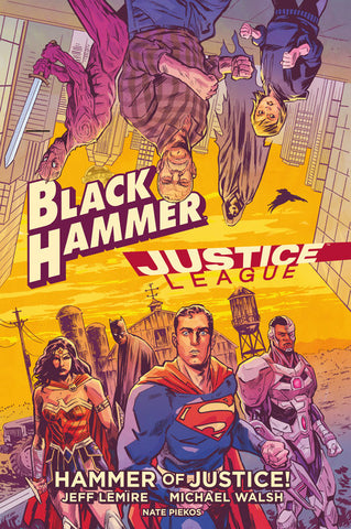OK Comics | Black Hammer/Justice League by Jeff Lemire and Michael Walsh