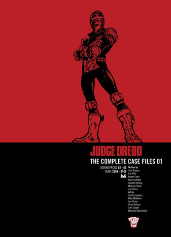 OK Comics | Judge Dredd Complete Case Files Volume 1