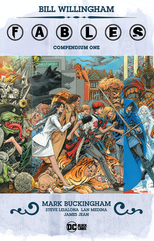 Fables Compendium Volume 1 by Bill Willingham
