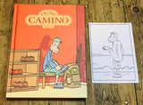 On the Camino With Signed Print by Jason