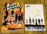 OK Comics | Black Hammer Volume 1 With Signed Print by Jeff Lemire and Dean Ormston
