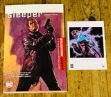OK Comics | Sleeper with Signed Print by Ed Brubaker and Sean Phillips