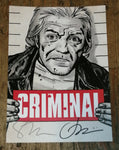 Criminal Deluxe Hardcover Volume 3 with Exclusive Signed Bookplate by Ed Brubaker and Sean Phillips