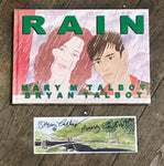 Rain with Signed Print by Bryan and Mary Talbot