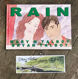 OK Comics | Rain with Signed Print by Bryan and Mary Talbot