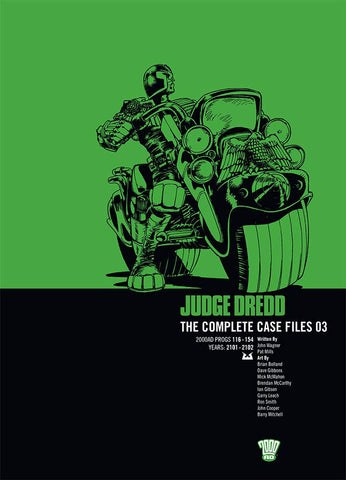 Judge Dredd Complete Case Files Volume 3