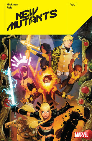 New Mutants Volume 1 by Jonathan Hickman and Rod Reis