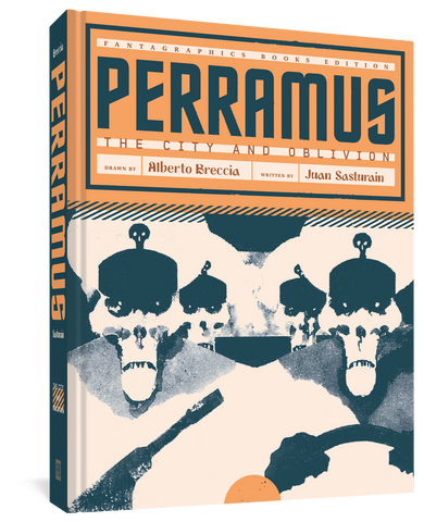 Perramus The City and Oblivion by Juan Sasturain and Alberto Breccia