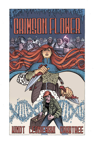 Pre-Order Crimson Flower by Matt Kindt and Matt Lesniewski