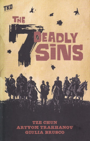 OK Comics | The Seven Deadly Sins by Tze Chun and Artyom Trakhanov