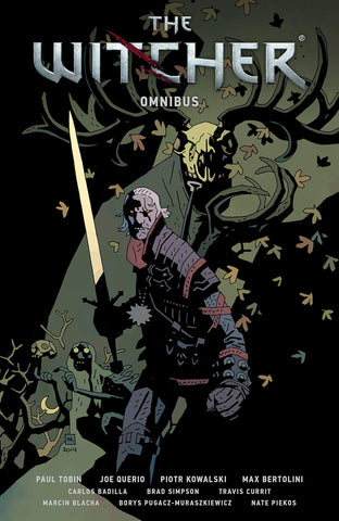 OK Comics | The Witcher Omnibus by Paul Tobin