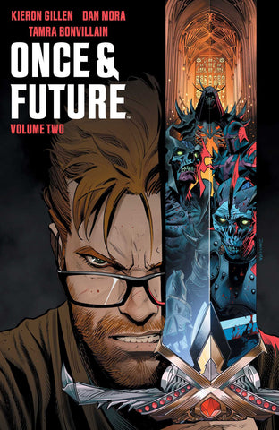 Once and Future Volume 2 by Kieron Gillen, Dan Mora and Tamra Bonvillain