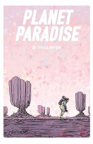 Planet Paradise with Exclusive Signed Print by Jesse Lonergan