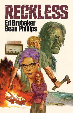 Reckless Hardcover with Exclusive Signed Book Plate by Ed Brubaker, Sean Phillips and Jacob Phillips