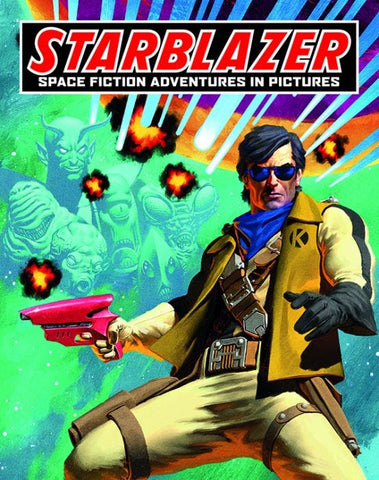 Starblazer Operation Overkill by Grant Morrison and D Broadbent