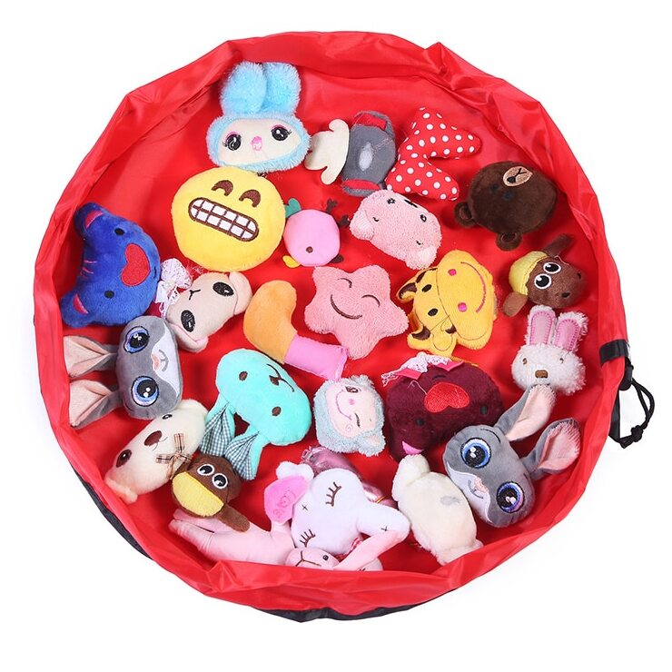 Portable Toy Storage Bag Free - Newborn Giggles Baby Infants Preschool Kids Child Children Clothes Toys Store Tools