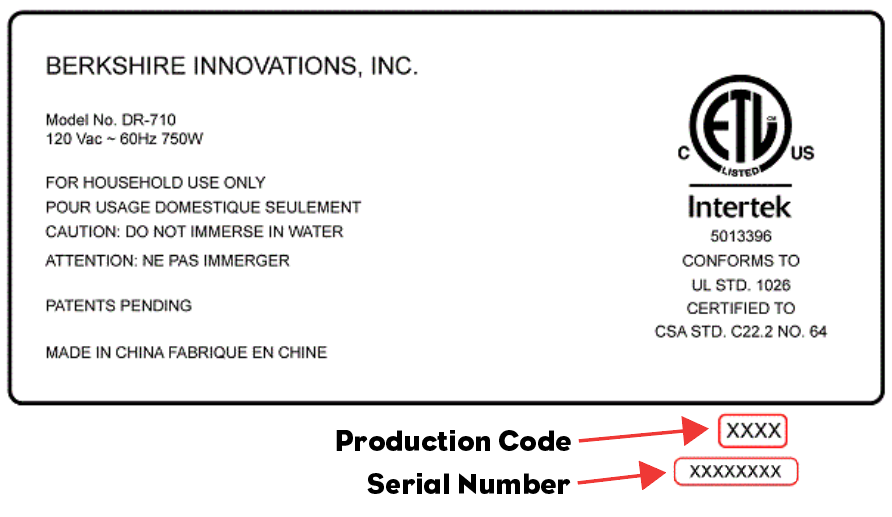 Production Code