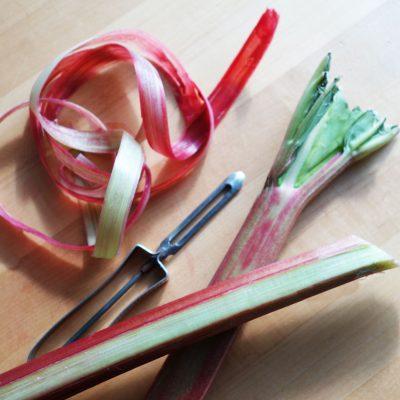 Picture of rhubarb